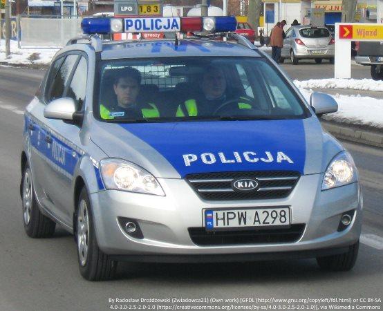 Policja Żyrardów: Kryminalni po pościgu zatrzymali poszukiwanego