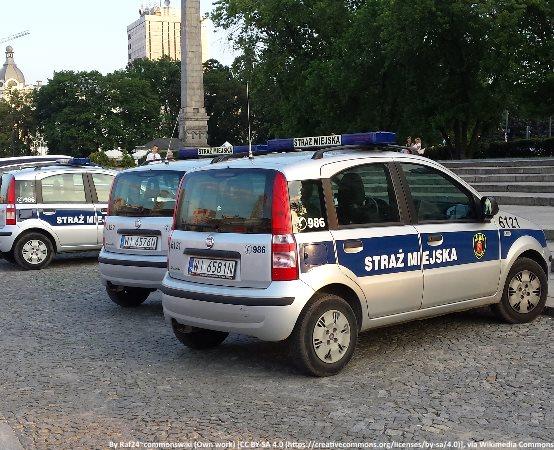 SM Żyrardów:  Wypadek na ul. 1 Maja